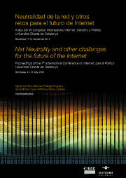 IDP 2011 net neutrality and other challenges for the future of the Internet