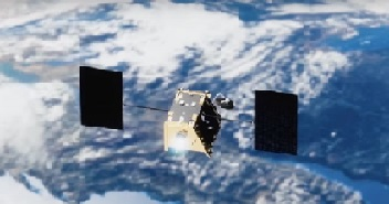 OneWeb satellite in orbit